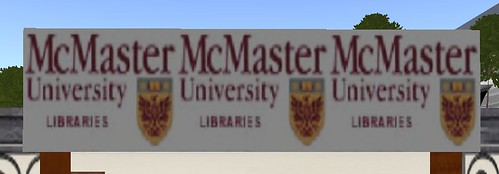 McMaster Library on Second Life