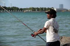 boating(0.0), fishing(1.0), sea(1.0), recreation(1.0), casting fishing(1.0), outdoor recreation(1.0), recreational fishing(1.0), angling(1.0),