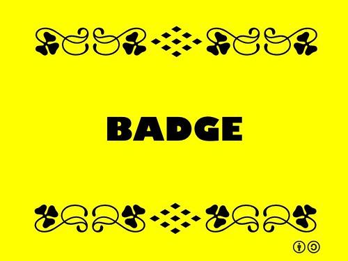 Buzzword Bingo: Badge
