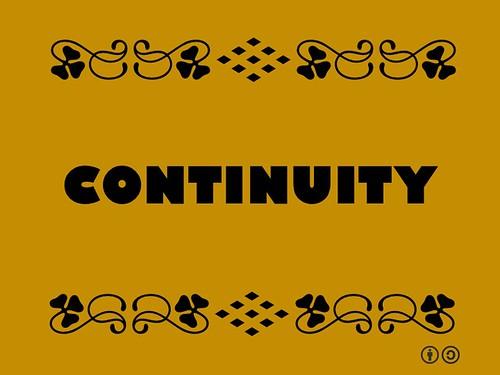 Buzzword Bingo: Continuity = Continuous function