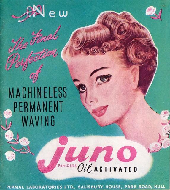 Vintage ad juno flickr photo sharing for 1950 beauty salon