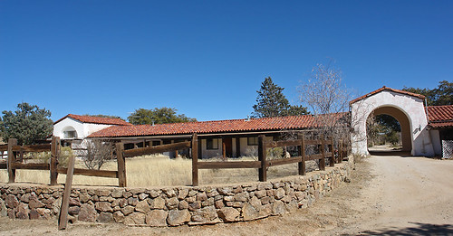 "Old ""El Rancho Robles"" Dude Ranch in Oracle, AZ by SearchNetMedia"
