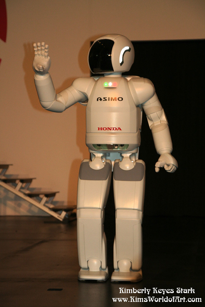 Honda Asimo Robot | I originally shot this robot at the Japa