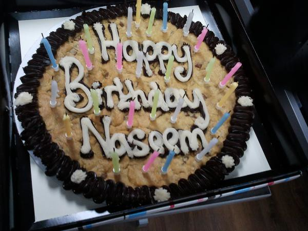 Happy Birthday Naseem Developer Naseem Celebrated His