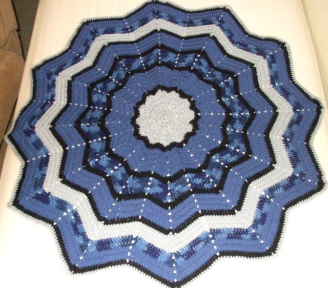 Round Ripple Afghan Pattern My Patterns
