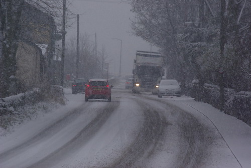 Winter driving conditions can be treacherous