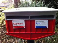 Post Office Box just waiting for old school communication
