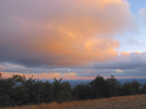 sunset evening northcarolina blueridgeparkway westernnorthcarolina southernappalachians ccbyncsa canonpowershotsx10is thelumpoverlook