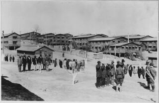 Recruits receiving instruction. Camp Gordon, Georgia., 03/04/1918
