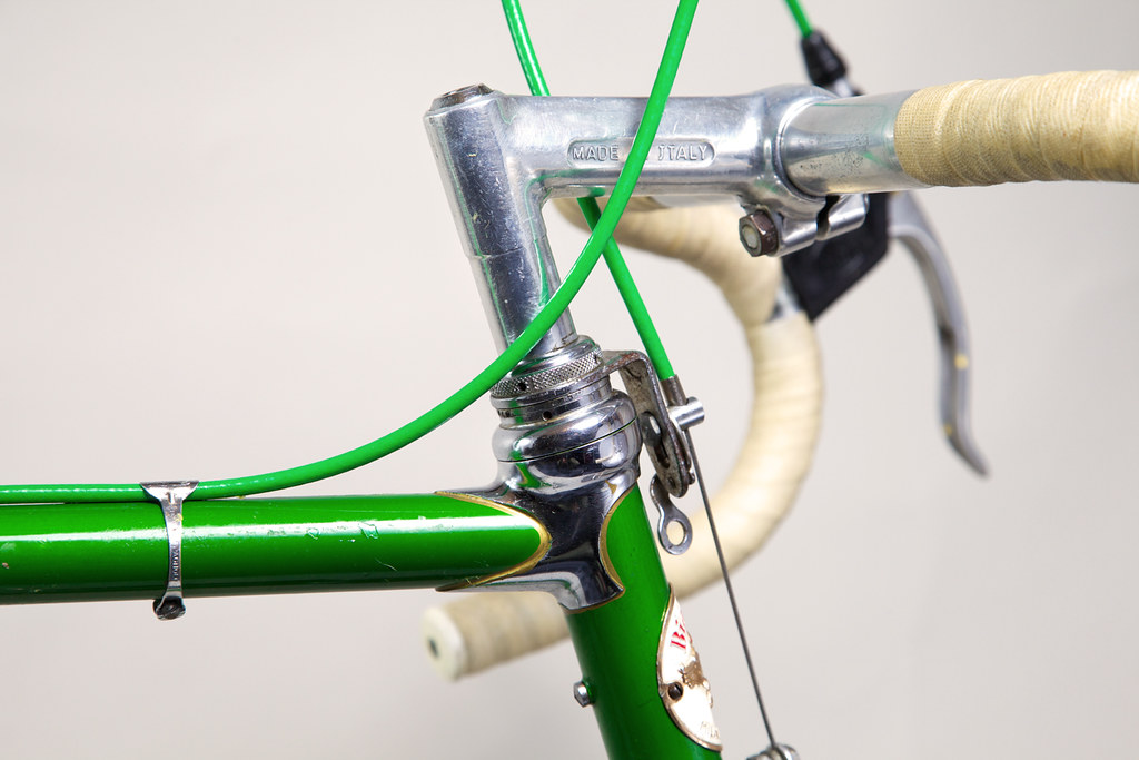 1964 Bianchi Specialissima Right Side Headset