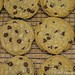 Nigella's Big Chocolate Chip Cookies baked at two different temperatures