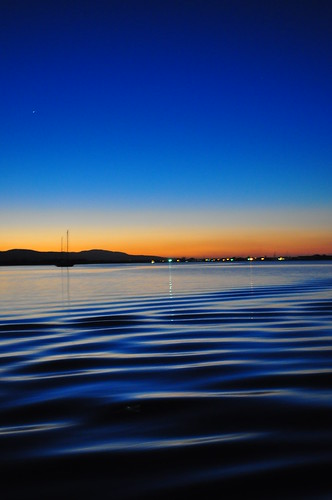 sunset reflection water night reflections nikon clear jamaica caribbean dslr falmouth glisteningwaters d5000 luminouslagoon