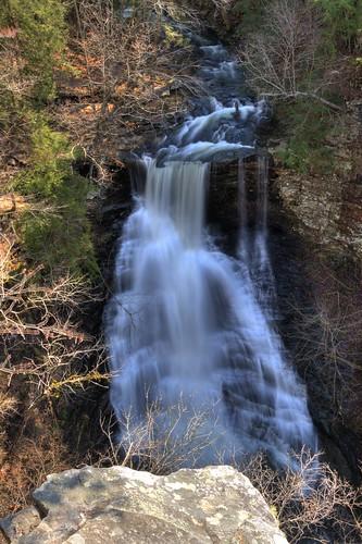Pisgah Gorge second Falls