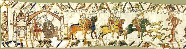 La composition graphique de la tapisserie de bayeux d j vu - Qu est ce que la tapisserie de bayeux ...