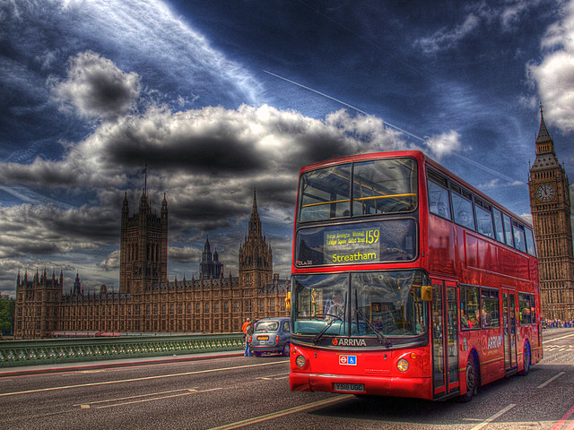 Big Ben and London Double-Decker Bus