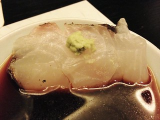 Sea Bream Sashimi @Uokura, Sinan Road, Shanghai
