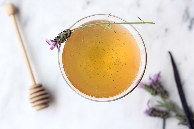 Honey Lavender Vanilla Bean Martini
