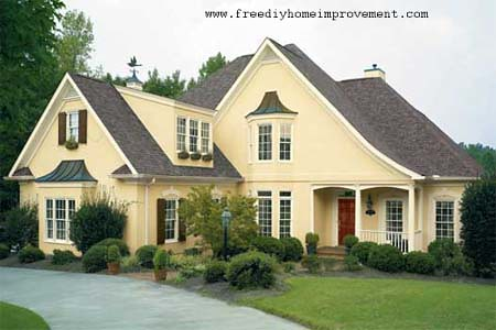 Home Exterior Wall Paint Color Scheme And Color Combination