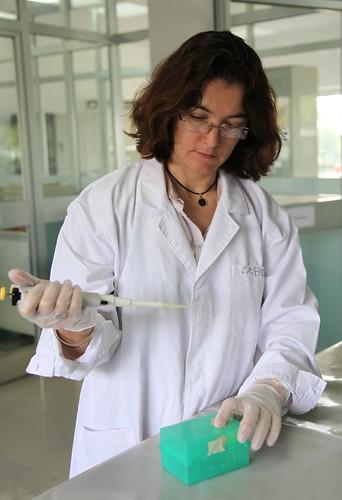 Alexandra Jorge ILRI genebank manager