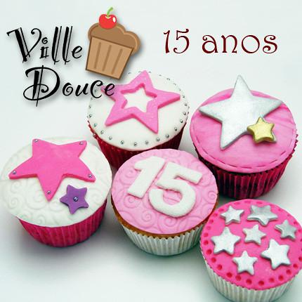 Fotos de cupcakes de 15 años - Imagui