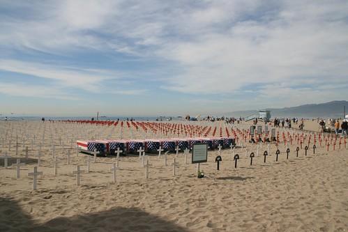 Homenaje a los caidos en Iraq (Santa Monica)