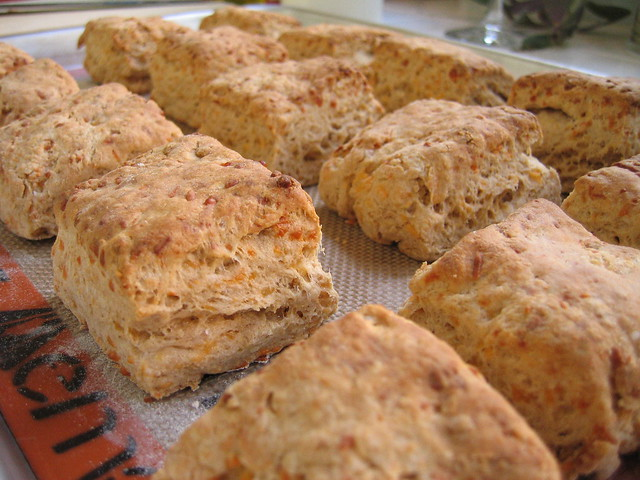 flaky cheddar biscuits | Flickr - Photo Sharing!