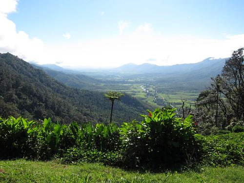 widok z campingu w parku narodowym Eungella