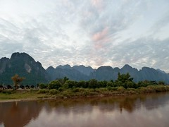 View over the Nam Song river from Vang Vieng (3)