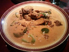 Red Curry with Beef @ Thai Chili