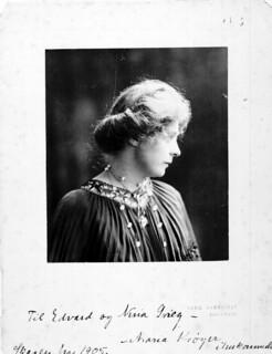 Maria Kröyer portrait