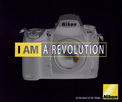 Nikon D800 Advert