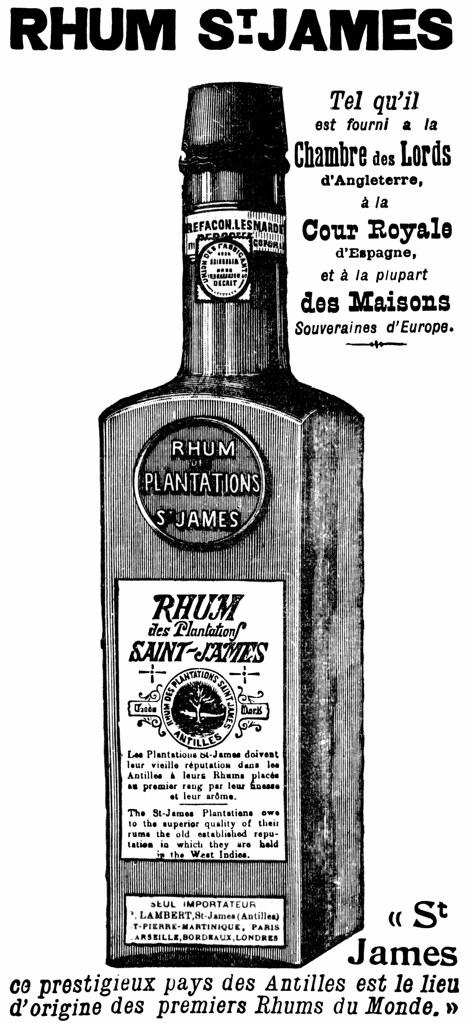 Rhum saint james publicit de 1909 pour le rhum saint jame flickr photo sharing - Chambre des lords angleterre ...
