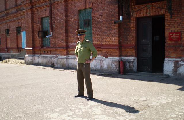 Karosta prison museum in Liepaja