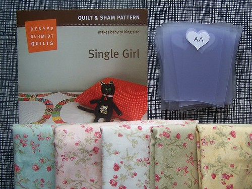 single girl : pattern templates fabric.