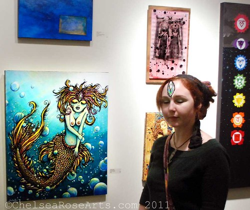 My Painting at the Love Show