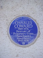 Photo of Charles Coward blue plaque