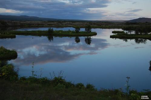 Panorama nel parco di Thingvellir