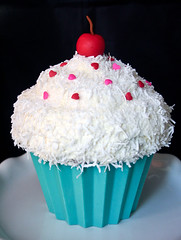 Giant Cupcake Decorating Ideas Birthday : Giant Cupcake Birthday Cake Giant Cupcake Birthday Cake ...