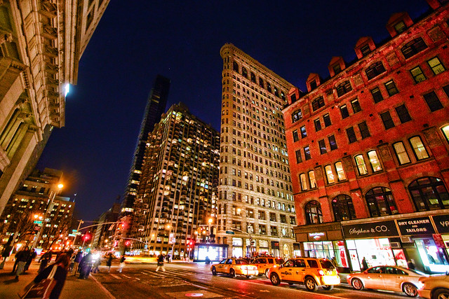 The Flatiron at Night