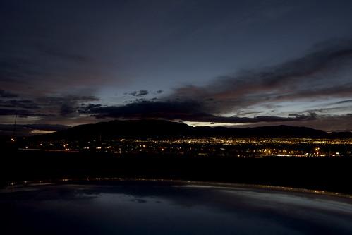 newmexico reflection sunrise pre tpf sandiamountain quadripod efs1755mmf28isusm alsoknownascarroof albuquerqueslights