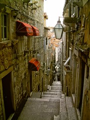 Dubrovnik steps