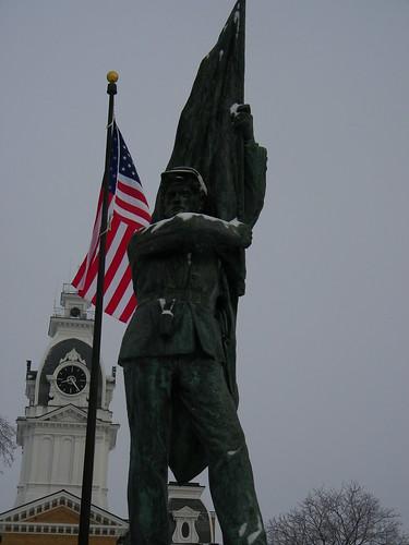 Student Veteran Memorial by Lorado Taft (Hillsdale College, 1895)