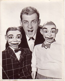 Paul Winchell and his pals Jerry Mahoney & Knucklehead Smyth