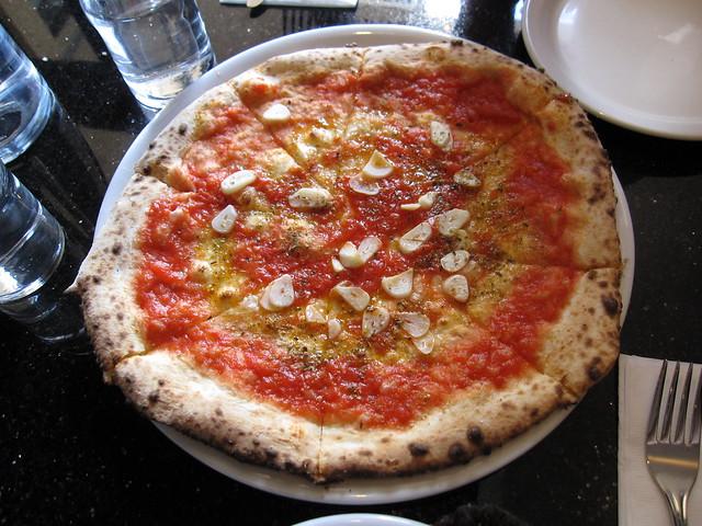 Pizza Marinara @ Napoletana Pizza