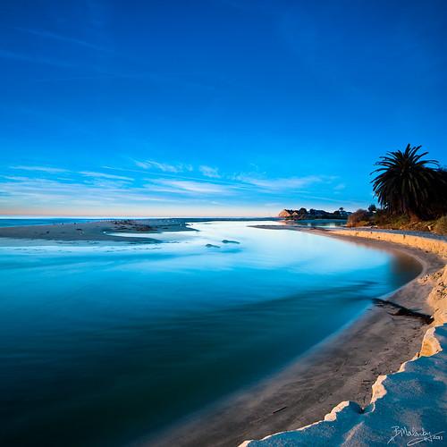 california seascape color beach water sunrise coast la nikon malibu tokina 2011 vertorama d300s