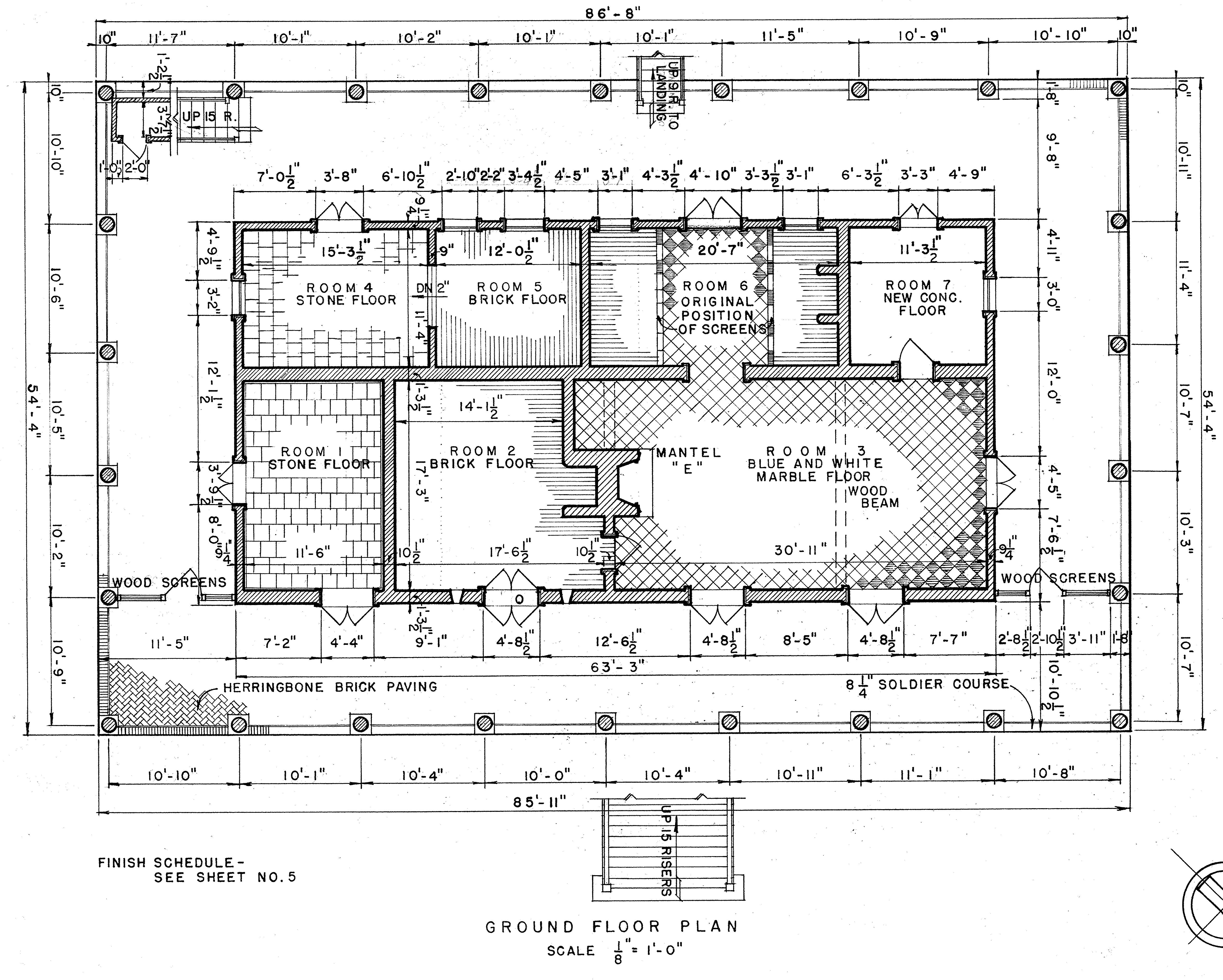 Homeplace basement floor plan flickr photo sharing Plantation house floor plans