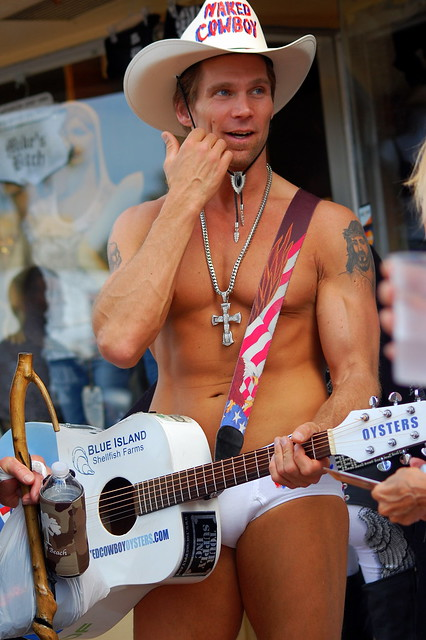 Naked Cowboy Bike Week Daytona Beach Flickr Sharing