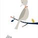 La montagne et l'oiseau by Audrey Jeanne - L'Affiche Moderne by L'Affiche Moderne
