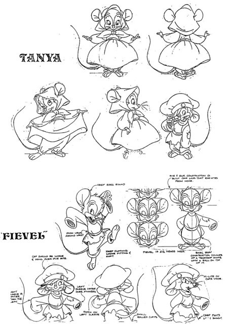 fievel coloring pages - photo#20