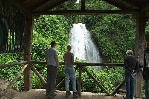 waterfall ecuador otavalo